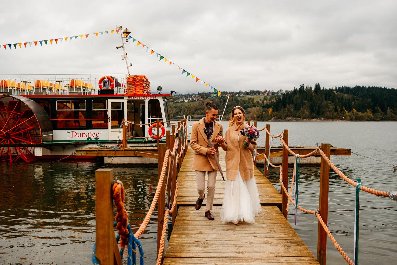 Ślub na statku