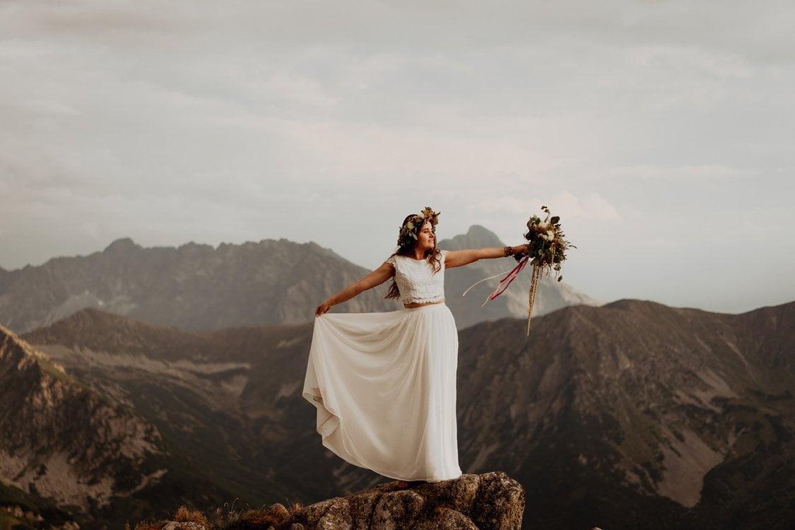 plener ślubny kasprowy wierch