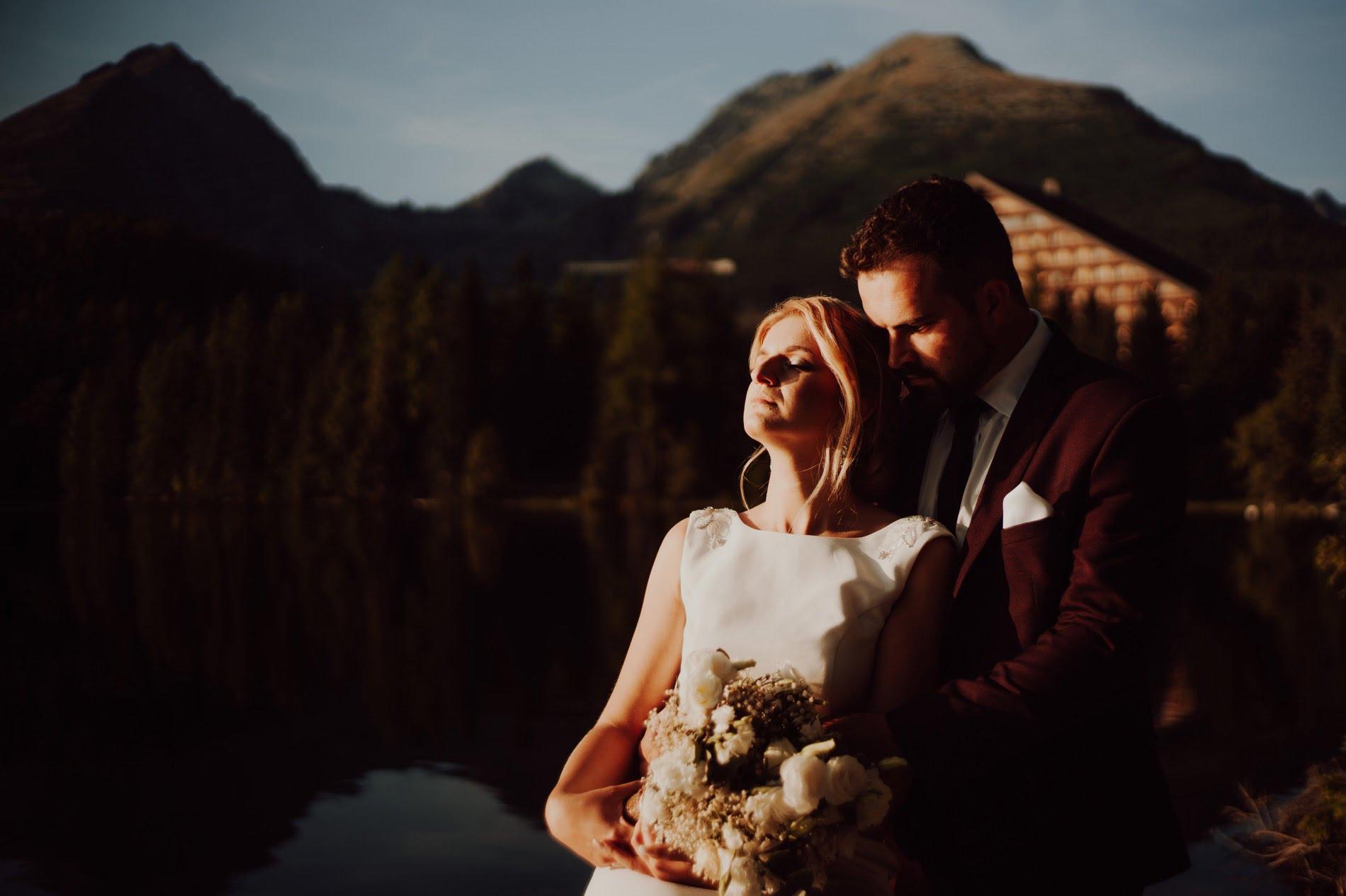 Sesja ślubna Szczyrbskie Jezioro
