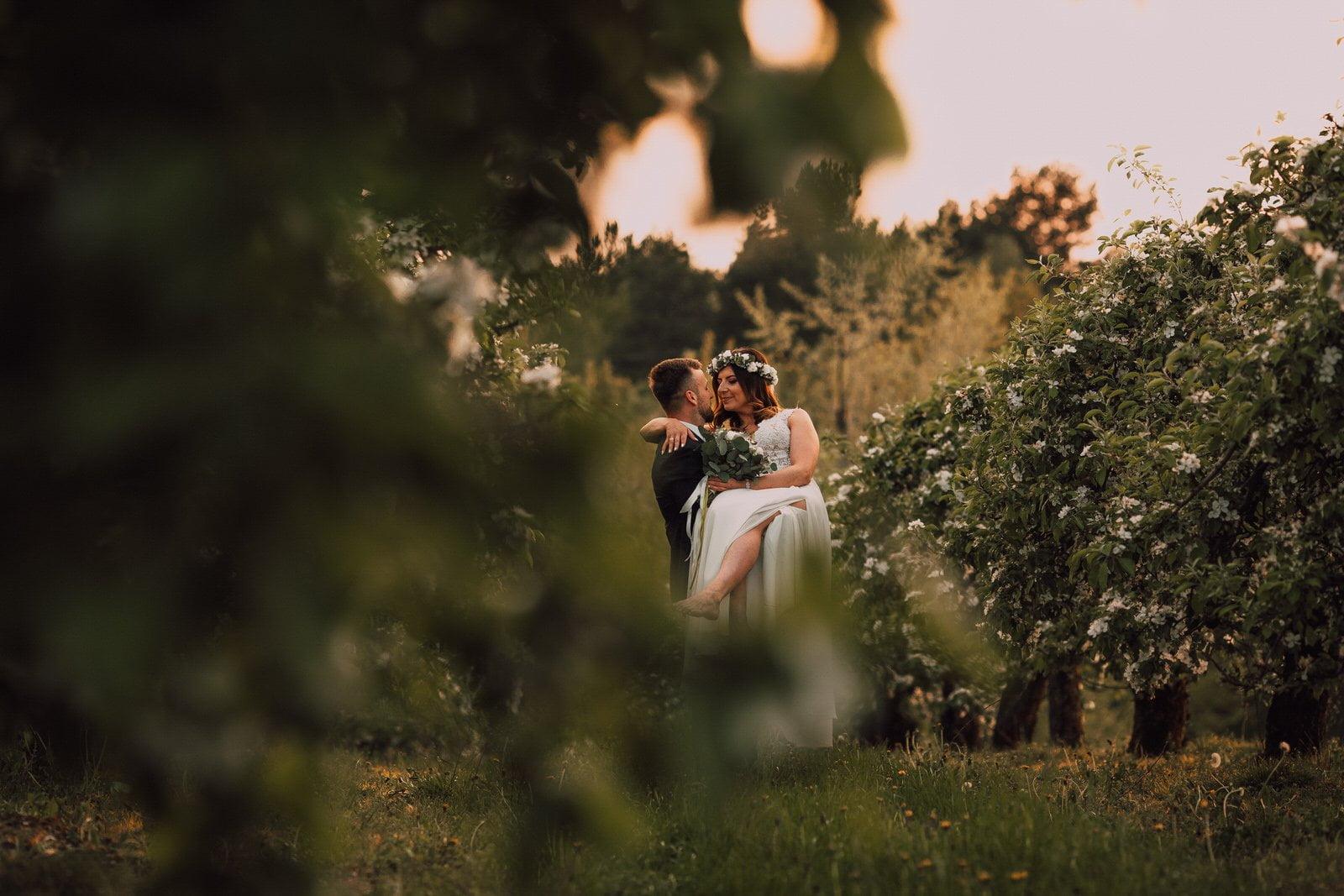 sesja ślubna plener