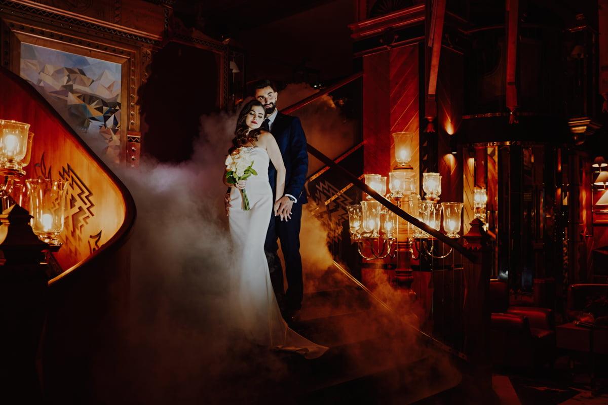 zimowy ślub